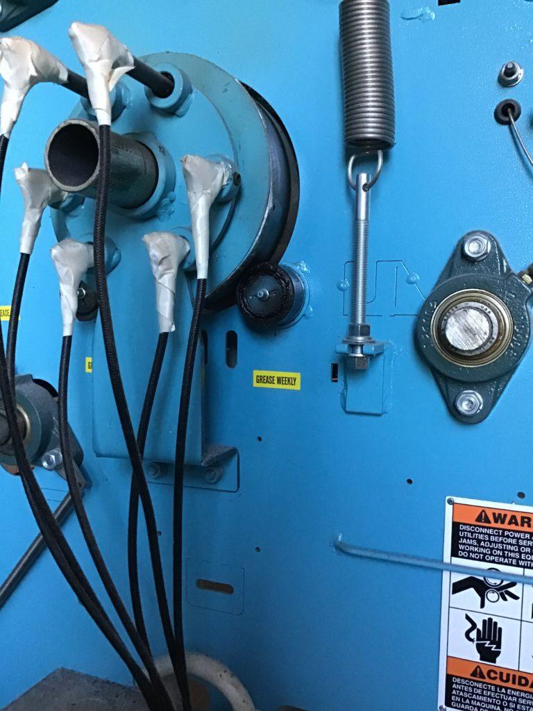 электрические нагревательные элементы каландра
